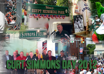 Curt Simmons Day Collage